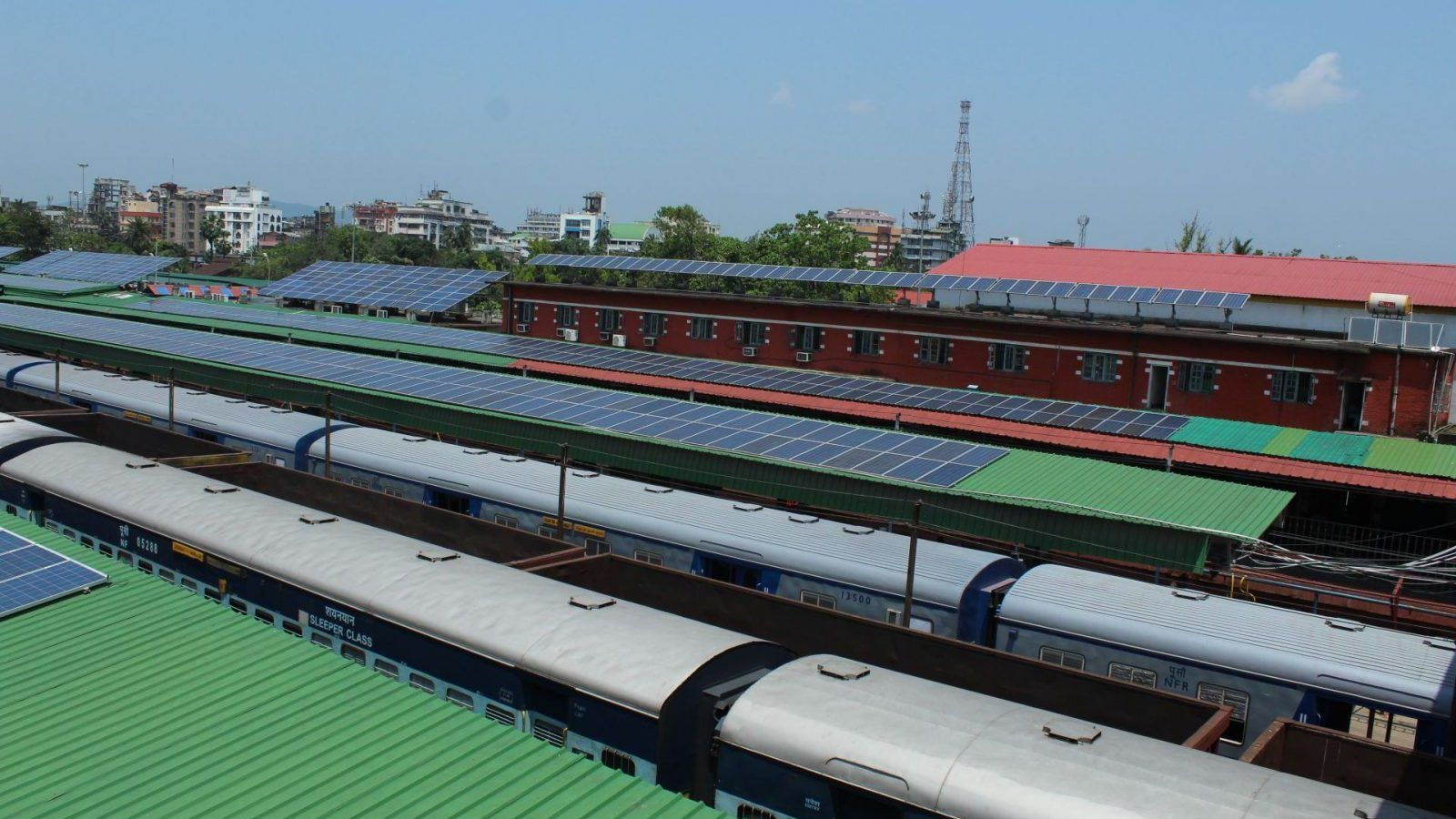 Indian Railways To Install Solar Panels On Stations And